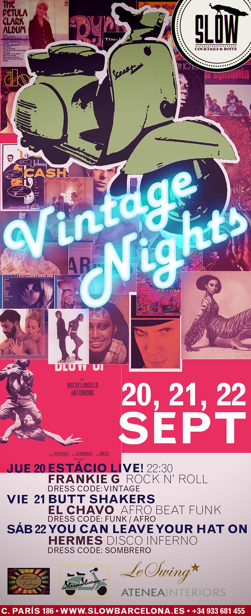 Vintage Nights en Slow