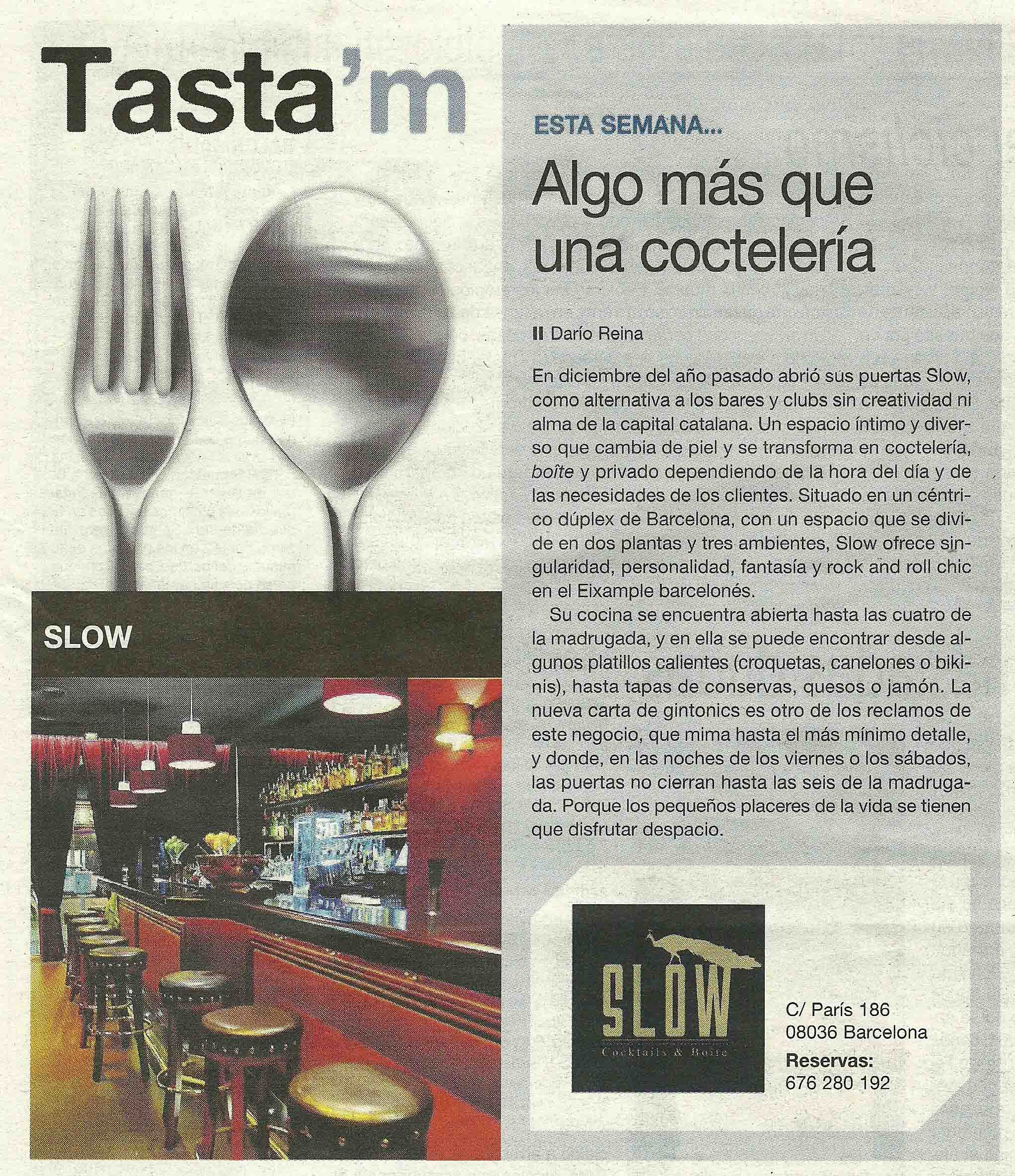 """El diario Sport se vuelve """"Slow"""""""
