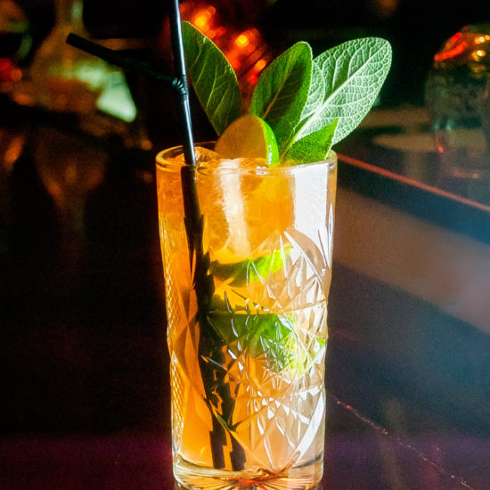 Chartreuse 'N' Stormy